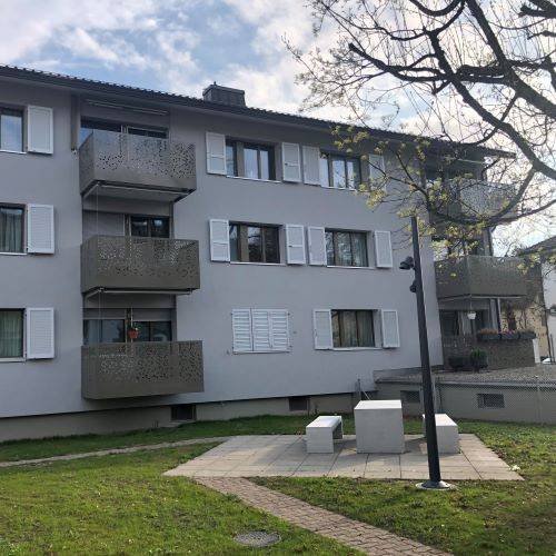 Sanierung Wohnbausiedlung Seebach